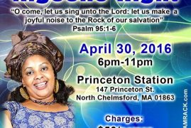 Women of Hope ,Boston Invites you to a Special Dinner & Kigocho Night April 30 2016 @6pm with Pastor Ruth Wamuyu
