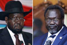 Salva Kiir and Riek Machar sign peace deal