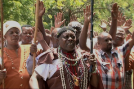 Kikuyu elders hold prayers in Mombasa for Ruto's ICC Case
