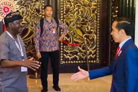 Raila Odinga on infrastructure talks in Indonesia (PHOTOS)