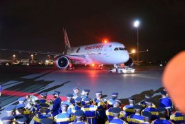Finally, KQ in first direct flight to US: PHOTOS & VIDEO