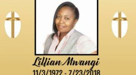 Death Announcement for Lillian Mwangi