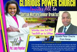 Glorious Power Church presents Spiritual  Warfare Seminar Breakfast
