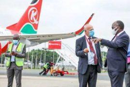 Kenya issues guidelines as it starts receiving international flights