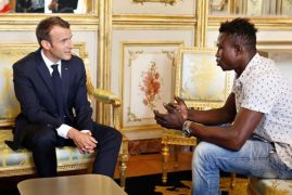 'Hero' Malian who saved child to get French citizenship: Macron