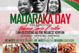 Connect,Network & Empower: Madaraka Day Celebrations June 10th 2017 2pm-9pm