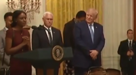 """""""Let me pray for you,"""" Mahalet, an Ethiopian immigrant requests President Trump"""