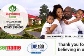 Username Investment Ltd: empowering you to actualize your home ownership dream