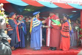JKUAT Hands Uhuru's Mum Mama Ngina Honorary PhD