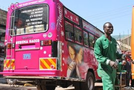 Nairobi's Famed Matatu Graffiti Is Back