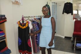 Kenyan Designer Finds Her Niche in Fashion Industry