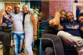 'Love Doctor': Kenyans Online Awed as Singer Muigai wa Njoroge Flaunts His Two Wives