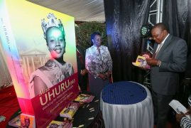 "Launching the book ""Miss Uhuru 1963: Working for Mzee Jomo Kenyatta"" an autobiography by Mrs. Elizabeth Mumbi Madoka"