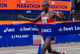 Mutai steps up to lead Kenyan Boston Marathon hunt