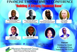 Financial Empowerment Conference: Building A Strong Financial Base  April 28 2018
