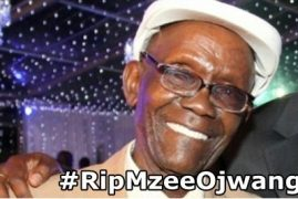 Uhuru Kenyatta sends condolences to the Late  Benson Wanjau/Mzee Ojwang