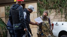 Bravery:The S.A.S SINGLE BRITISH SPECIAL OPERATOR in Nairobi Kenya January 2019 DUSIT TERROR ATTACK