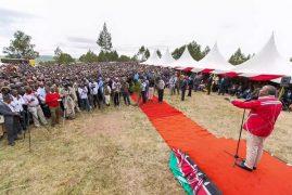 Narok:Hosting President Uhuru Kenyatta