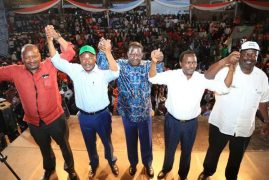 Opposition leaders unveil National Super Alliance