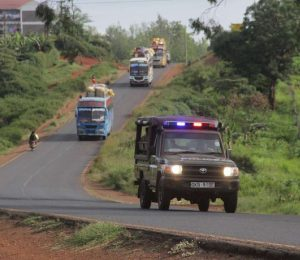 The Kenyan government has ordered that all buses plying North-Eastern routes to have a police escort