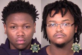 Two Kenyans arrested after an armed robbery,police pursuit in Oregon