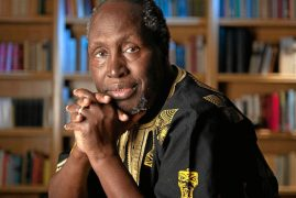 FILM SPEAK: Prof. Ngugi Wa Thiong'o Honoured For The First Time