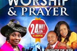 Night of Worship & Prayer May 24th 2019 @ 9PM Well Of Worship Center 145 Broadway Road Dracut,Massachusetts