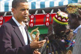 Obama makes first trip to Kenya as President