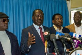 Raila Odinga writes to President Kenyatta requesting dialogue
