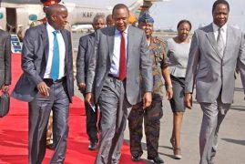 OLE LENKU EMBARRASSED KENYA, SAYS UHURU