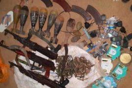Guns, explosives seized as police arrest another terror suspect in Garissa