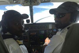 Kenyan pilots brave deadly Somalia skies