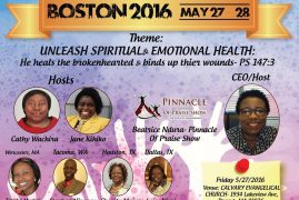 The Weekend of Empowerment:May 27-28,2016 Unleash Spiritual & Emotional Health