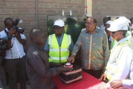 President Kenyatta set to open Lake Turkana Wind Power