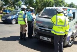 700 drivers to spend painful Christmas in Kenya police cells over various traffic offenses