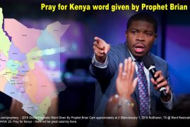 PROPHECY:The Word of the Lord for 2017 given by Prophet Brian Carn