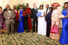 Photos/Video:Pastor Lucy Njoki weds John J Paynter in a solemn,colorful ceremony in Chelmsford,Massachusetts