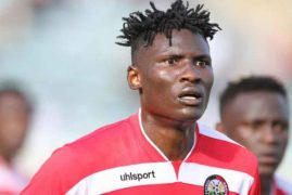 Michael Olunga is warming the bench in China