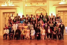 Queen Elizabeth celebrates Young Leaders from Kenya
