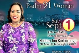 Boston Queens Night Saturday Sept 1st 2018 5Pm @ Holiday Inn Boxborough,MA Call to Register &  Reserve your Spot!!