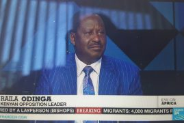 Video:Kenyan opposition leader Raila Odinga speaks to FRANCE 24 FRANCE 24 English