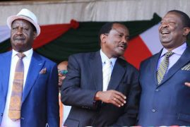 What dalliance with Uhuru means for Raila, Kalonzo, Moi