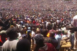 What Kenyans say about Raila swearing in