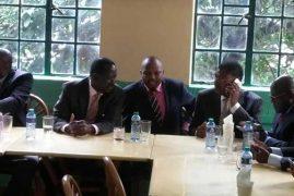 Raila Odinga, Moses Kuria Dine at a Nairobi Restaurant