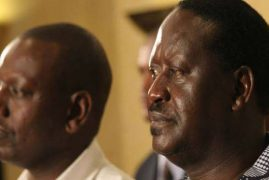 I'm ready to testify in favour of William Ruto, says former PM Raila Odinga