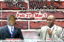 REBUILDING THE WALL CONFERENCE AT EAGLE CHRISTIAN MINISTRIES FEB 27TH TO MARCH 1ST 2015