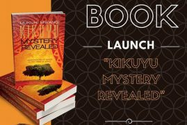 Invitation:Book Launch Event by Mukuhi Wa Mwangi author of Kikuyu Mystery Revealed April 1 2018 @ PCEA NEEMA  201 Coburn St, Lowell, MA