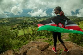 These running shoes are changing lives in Kenya. We SO want a pair!