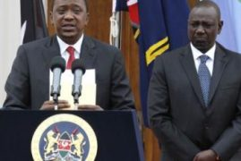 Rift Valley MPs Dare President Uhuru to Sack DP Ruto