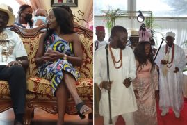 Ruto Hosts Nigerian In-Laws for Dowry Negotiation Ceremony for His Daughter June